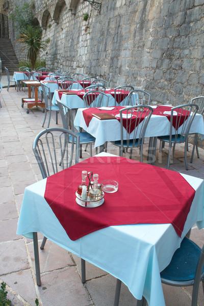 tables Stock photo © frescomovie
