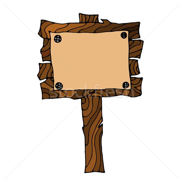 Wooden Signpos Stock photo © frescomovie