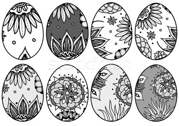 Ouă De Paşti Set Carte De Colorat Adult
