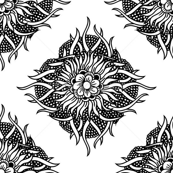 Floral projeto padrão Foto stock © frescomovie