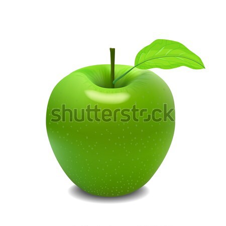 big green apple Stock photo © frescomovie