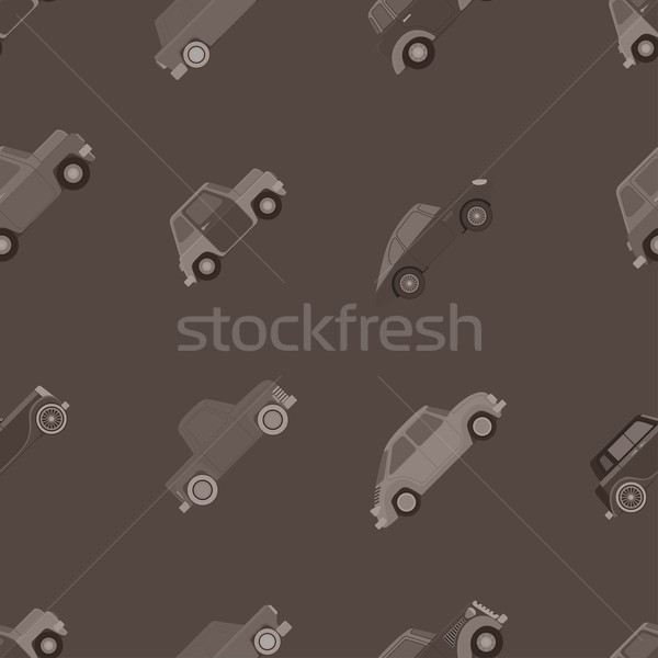 Stock photo: wallpaper of cars.