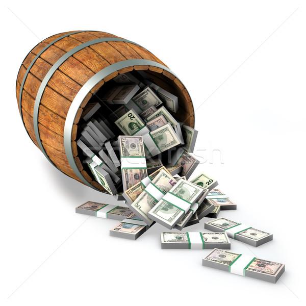 money 3d Stock photo © frescomovie