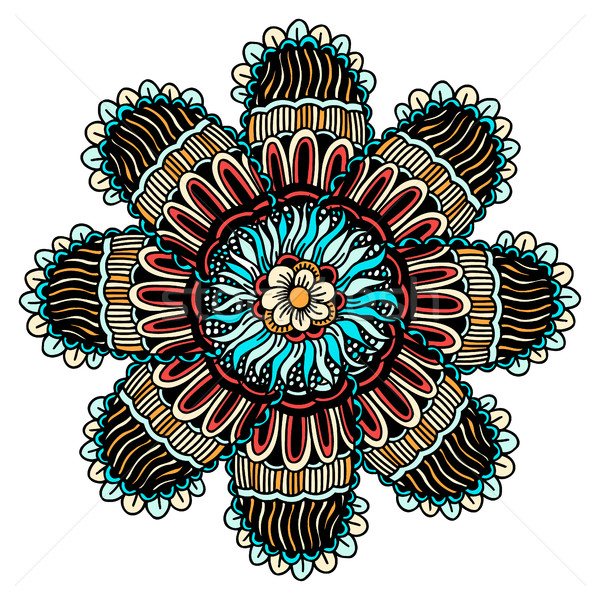 Mandala ethnic ornament Stock photo © frescomovie
