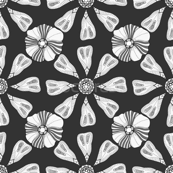 Floral patrón vector sin costura resumen diseno Foto stock © frescomovie