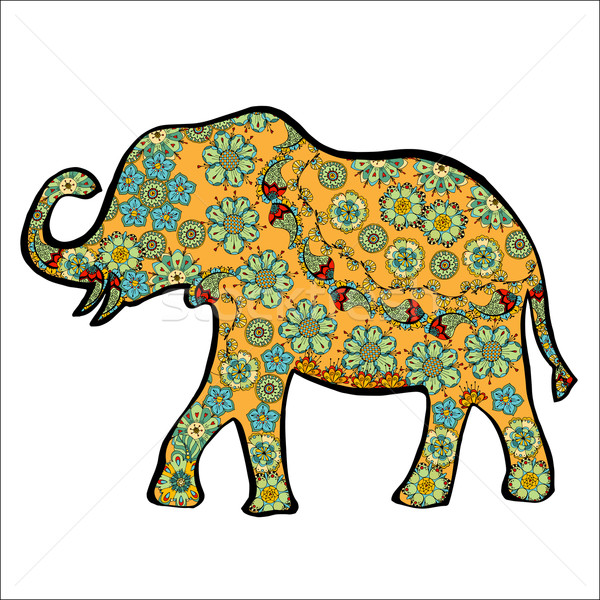 Stock photo: elephant.