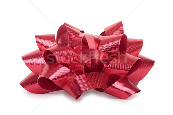 Red bow. Stock photo © frescomovie