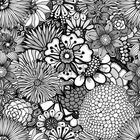 Bezszwowy streszczenie plemiennych wzór tekstury Zdjęcia stock © frescomovie