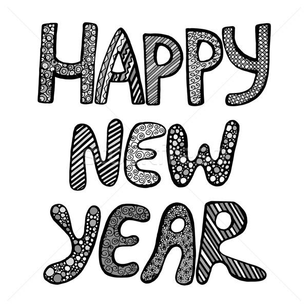 Happy New year  Stock photo © frescomovie