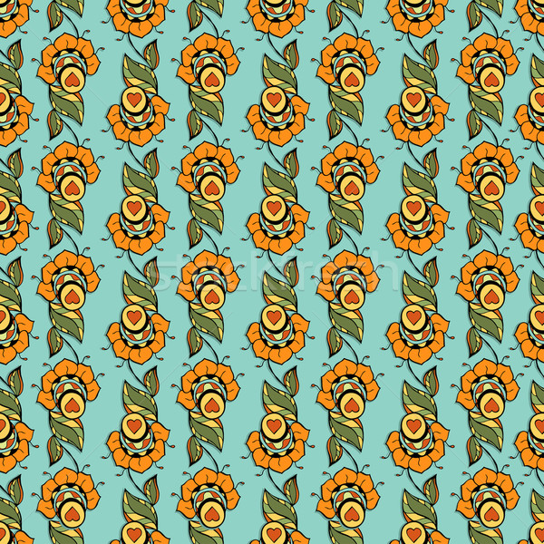 Stock photo: Floral Pattern