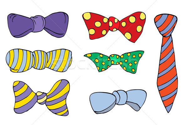 colorful tie Stock photo © frescomovie