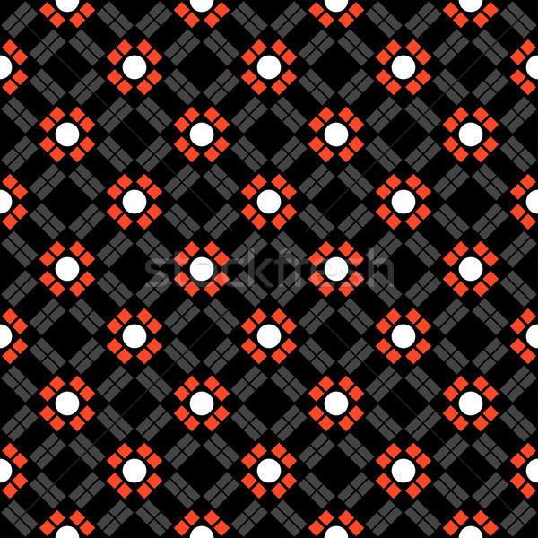 Geometry seamless pattern Stock photo © frescomovie