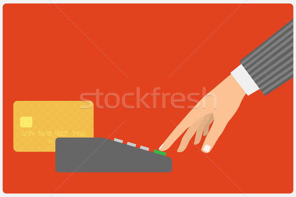 credit card spend Stock photo © frescomovie