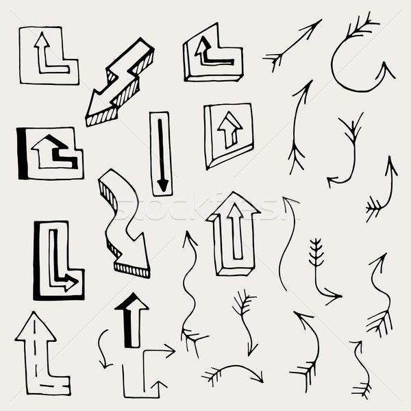 Arrows and Lines. Stock photo © frescomovie