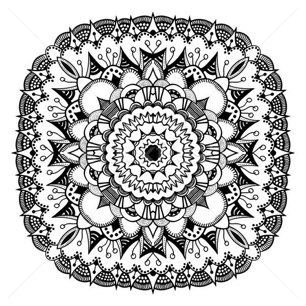 Mandala. Ethnic decorative elements. Stock photo © frescomovie