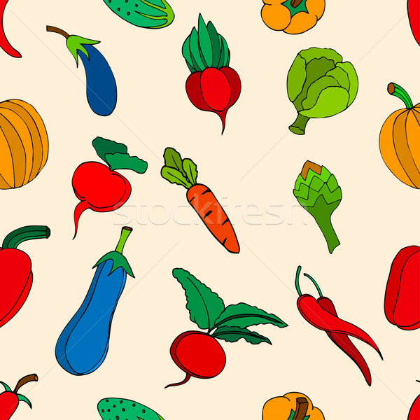 vegetables and spices Stock photo © frescomovie