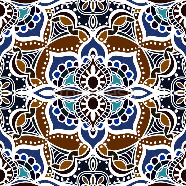 Seamless Floral Pattern Stock photo © frescomovie