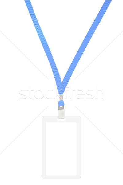 Name Tag Badge Stock photo © frescomovie