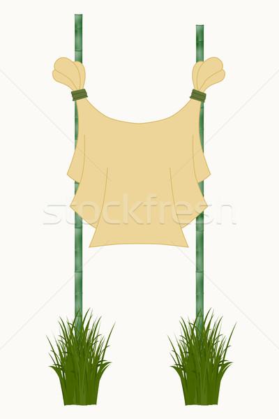 bamboo sticks Stock photo © frescomovie