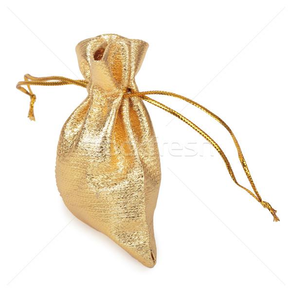 Golden Sack Stock photo © frescomovie