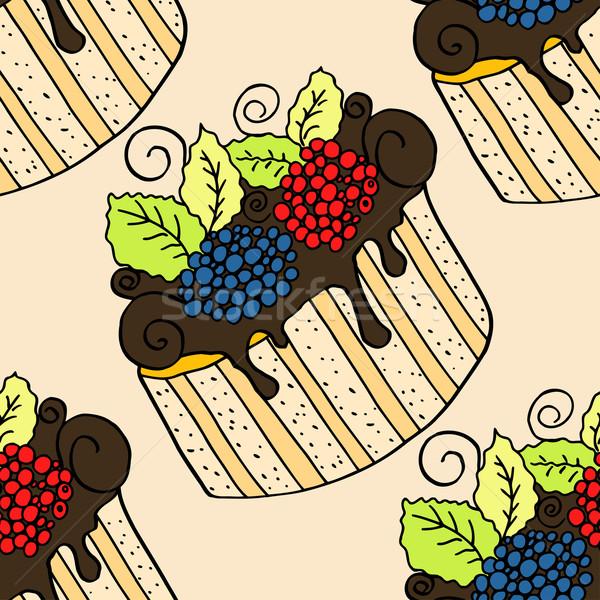 Stockfoto: Kleuren · papier · voedsel