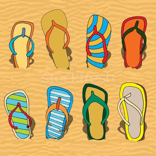 flip flops Stock photo © frescomovie