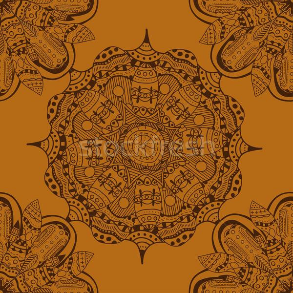 beautiful medieval ornament.  Stock photo © frescomovie