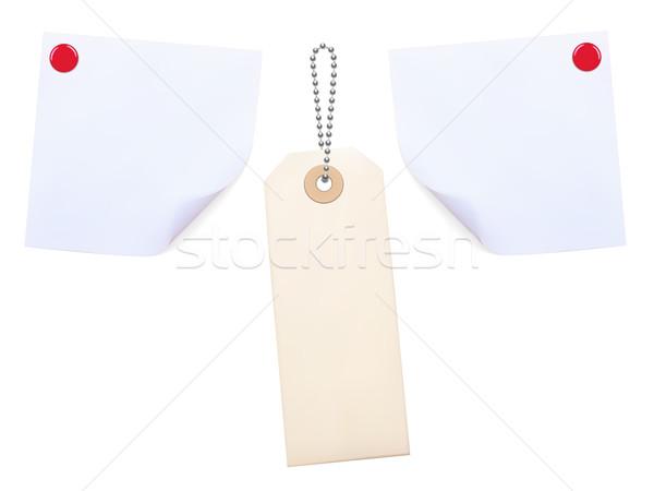 Note Papers Stock photo © frescomovie