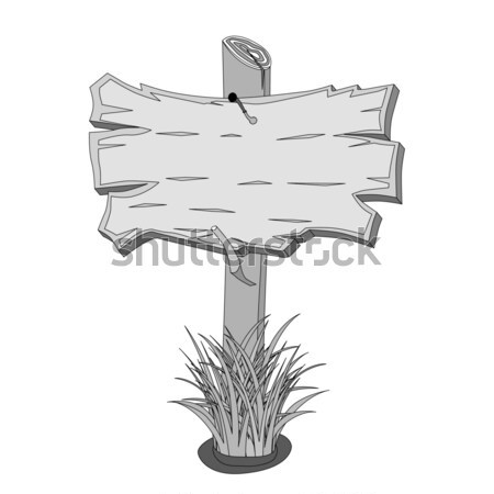 Sketch Signpost Stock photo © frescomovie