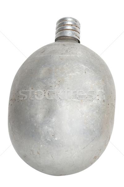 алюминий колба старые изолированный белый Сток-фото © frescomovie