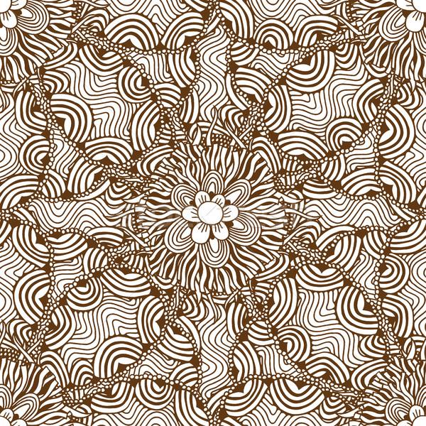 Foto stock: Floral · projeto · padrão