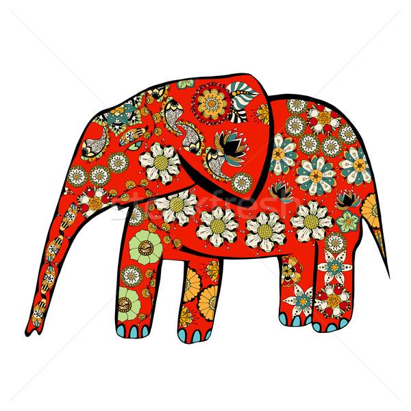 elephant. Stock photo © frescomovie