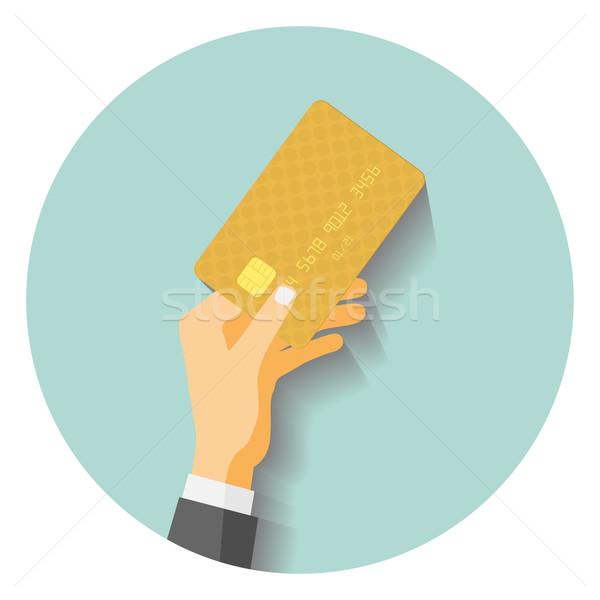 card to pay Stock photo © frescomovie