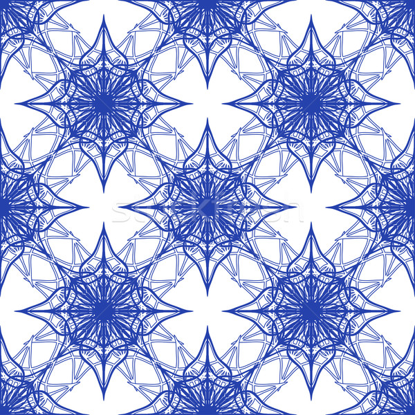 blue pattern Stock photo © frescomovie