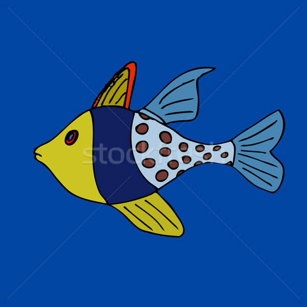 Tropical fish Stock photo © frescomovie