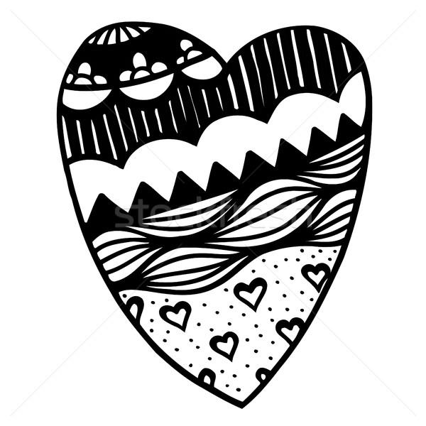 heart shaped pattern Stock photo © frescomovie