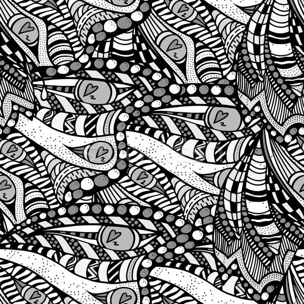 Sem costura abstrato padrão papel textura moda Foto stock © frescomovie