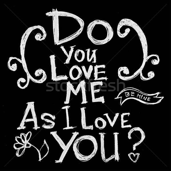 Stock fotó: Kéz · tipográfia · poszter · inspiráló · idézet · szeretet