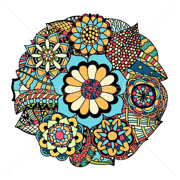 flower ornament Stock photo © frescomovie