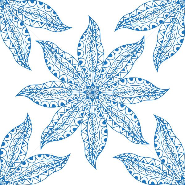 Blauw Oost vector geïsoleerd Stockfoto © frescomovie