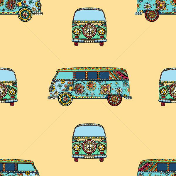 Pattern of Vintage car Stock photo © frescomovie