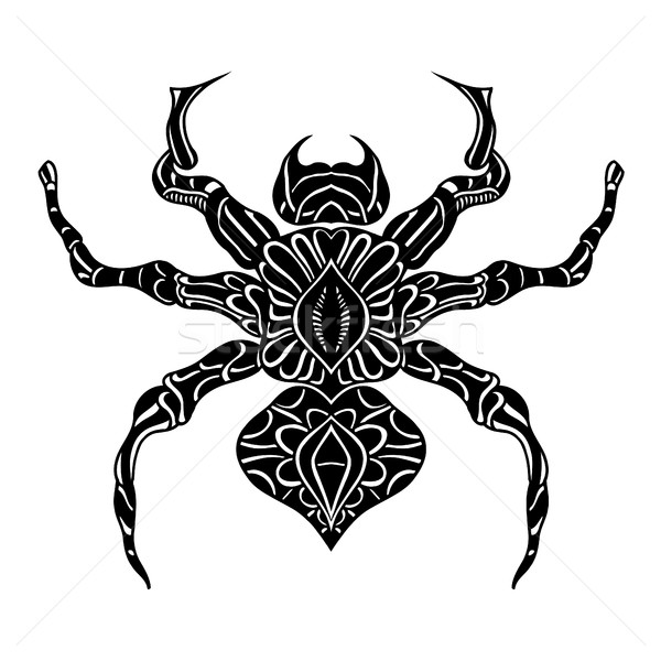 Vector of Abstract Spider Stock photo © frescomovie