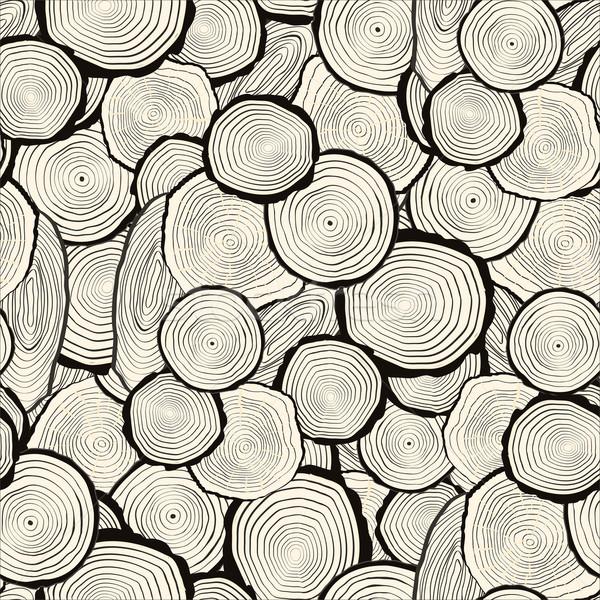 Boom ringen zag gesneden boomstam naadloos Stockfoto © frescomovie