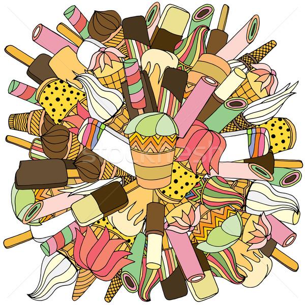 Ice creame Stock photo © frescomovie