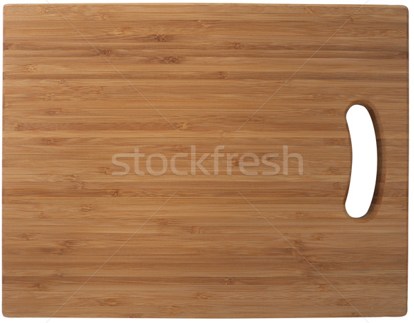 Bamboo cutting board Stock photo © frescomovie