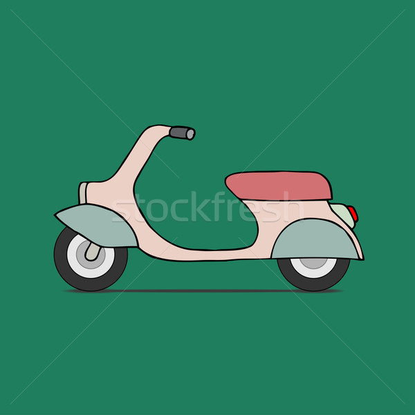 Classic moped Stock photo © frescomovie