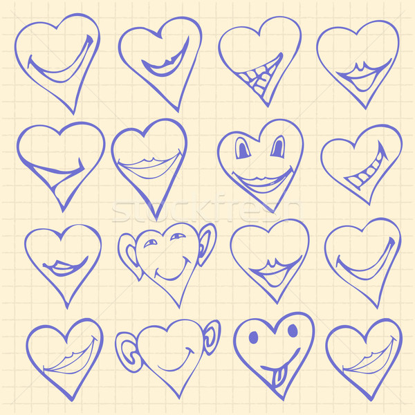 heart symbols  Stock photo © frescomovie