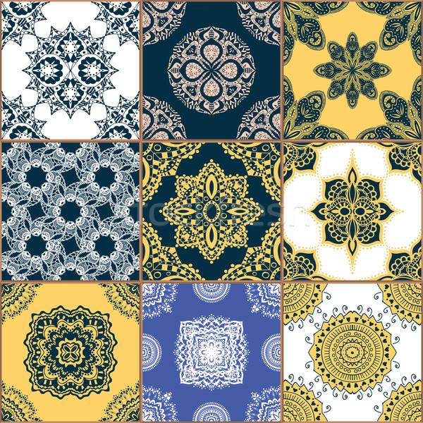 Gorgeous seamless pattern Stock photo © frescomovie