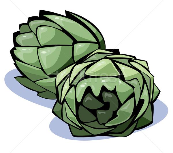 Vegetables series: artichokes Stock photo © fresh_7266481