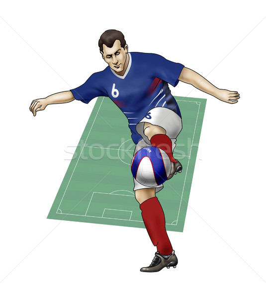 Team France Stock photo © fresh_7266481